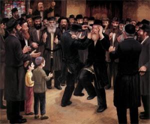 Chasidic Dance by Zalman Kleinman