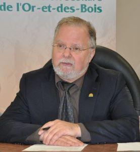 Gaétan Gilbert, président de la Commission scolaire de l'Or-et-des-Bois (Val d'or)