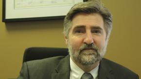 Le nouveau directeur par intérim du BTM (Bureau du taxi de Montréal), Alain Rochon